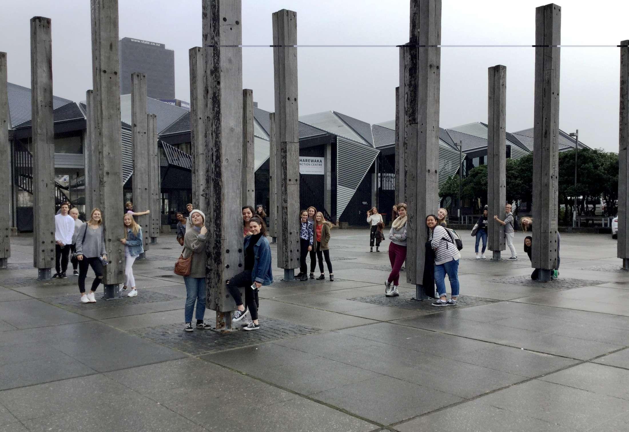Art History Wellington Trip 2017 - Recent News  -  Papanui High School