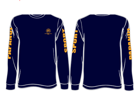 Sport Clothing available to order - Sport - Co-Curricular  -  Papanui High School