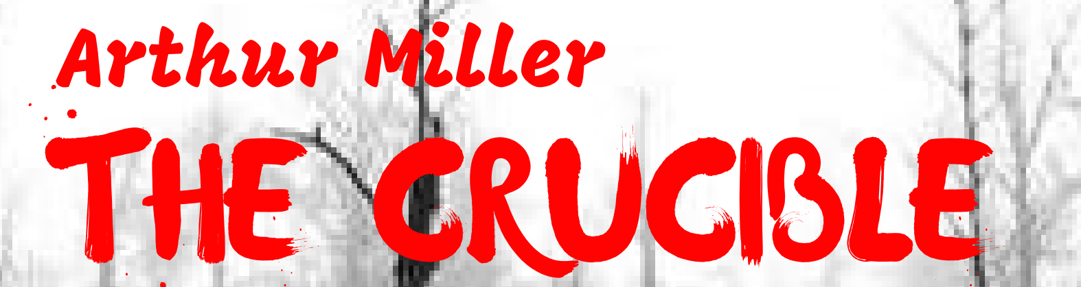 The Crucible- Senior Production 2018