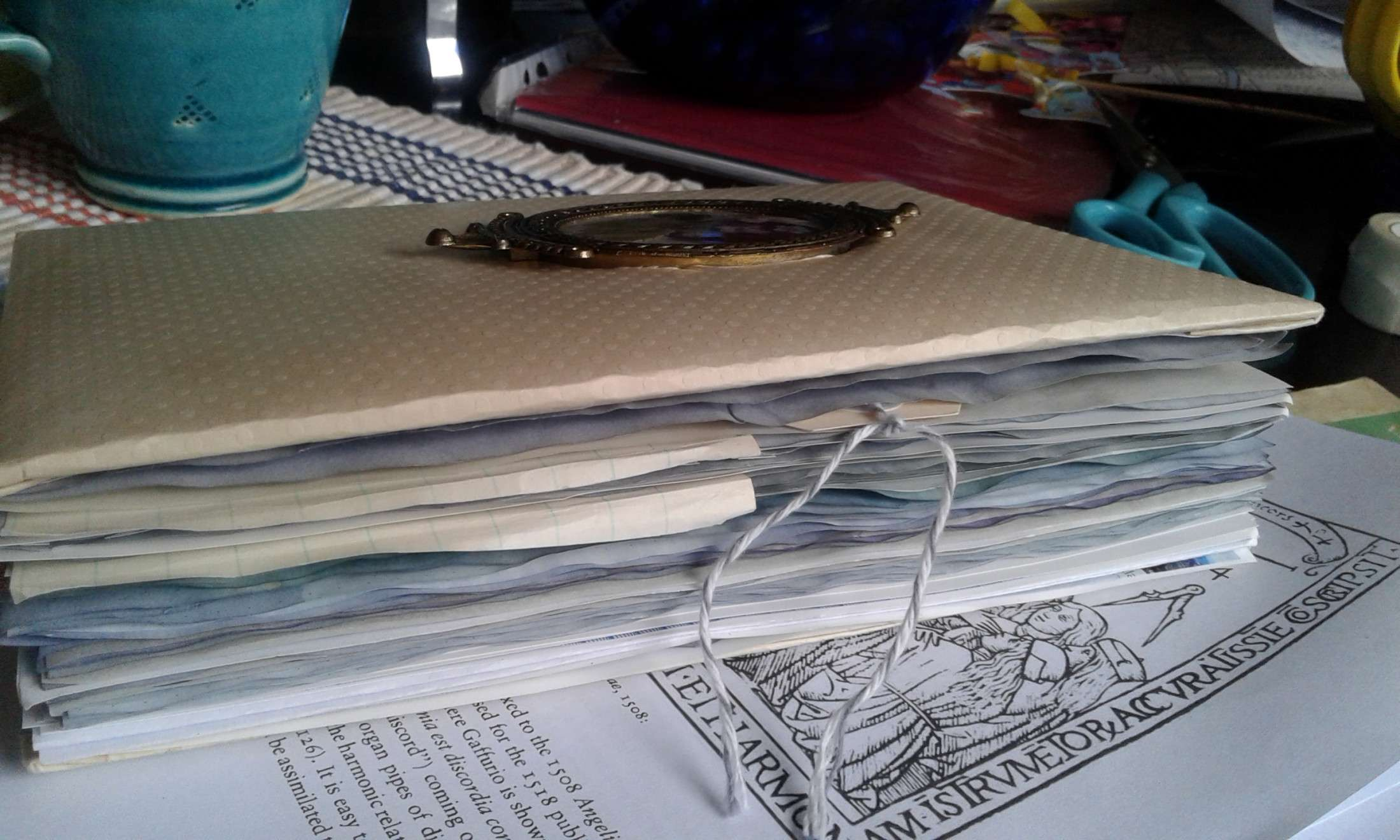 Creating a Hand Made Eco Printed Journal
