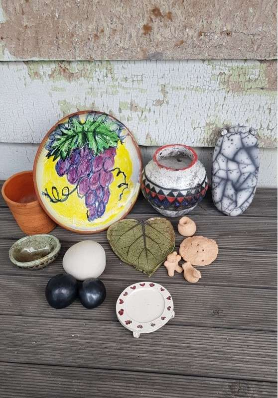 Pottery - Hand Construction and Decorating