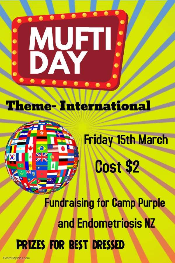 Mufti Day Friday 15 April - Performing Arts - Co-Curricular  -  Papanui High School
