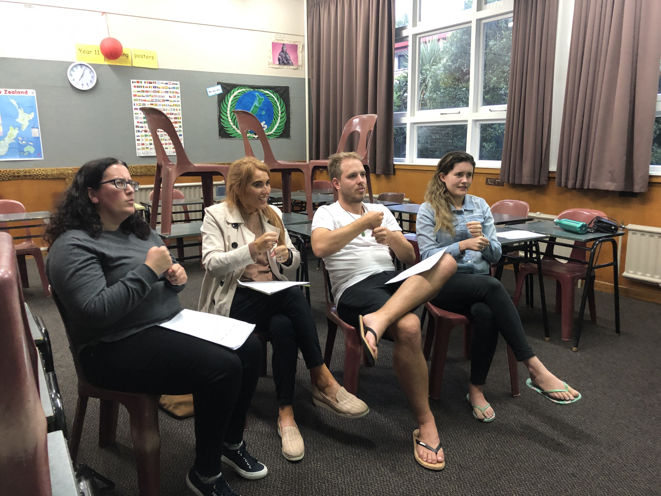 Sign Language - Learn New Zealand Sign Language  Level 1a
